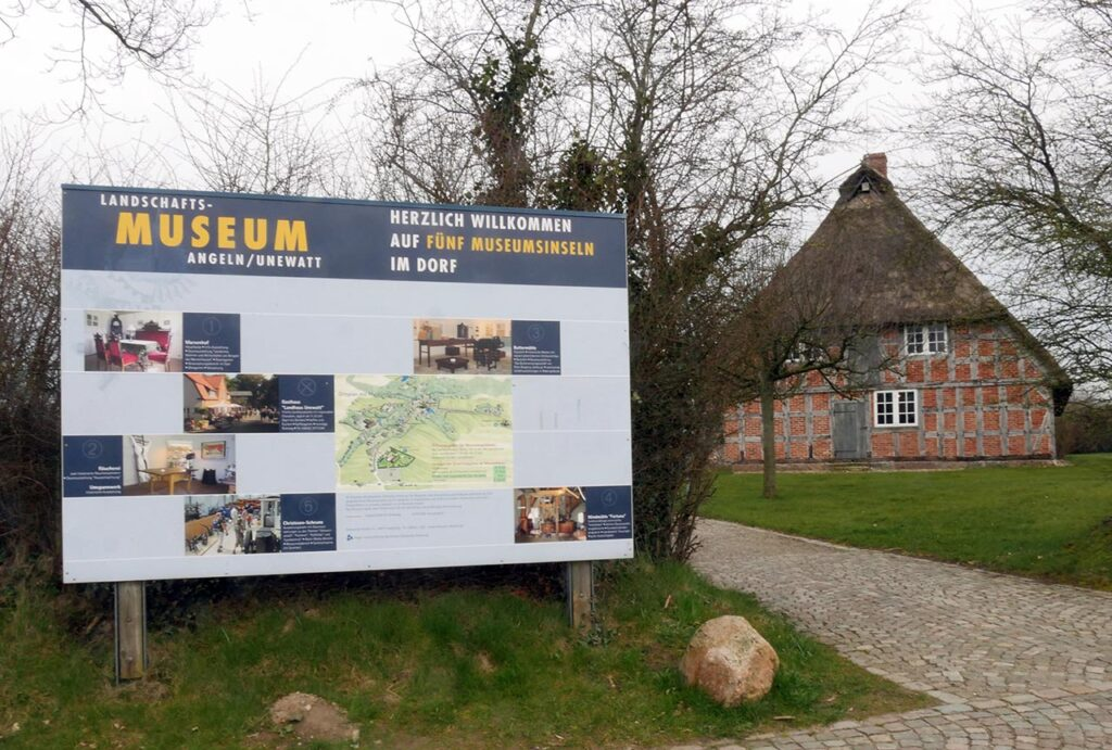 Landschaftsmuseum Unewatt  Die Umgebung