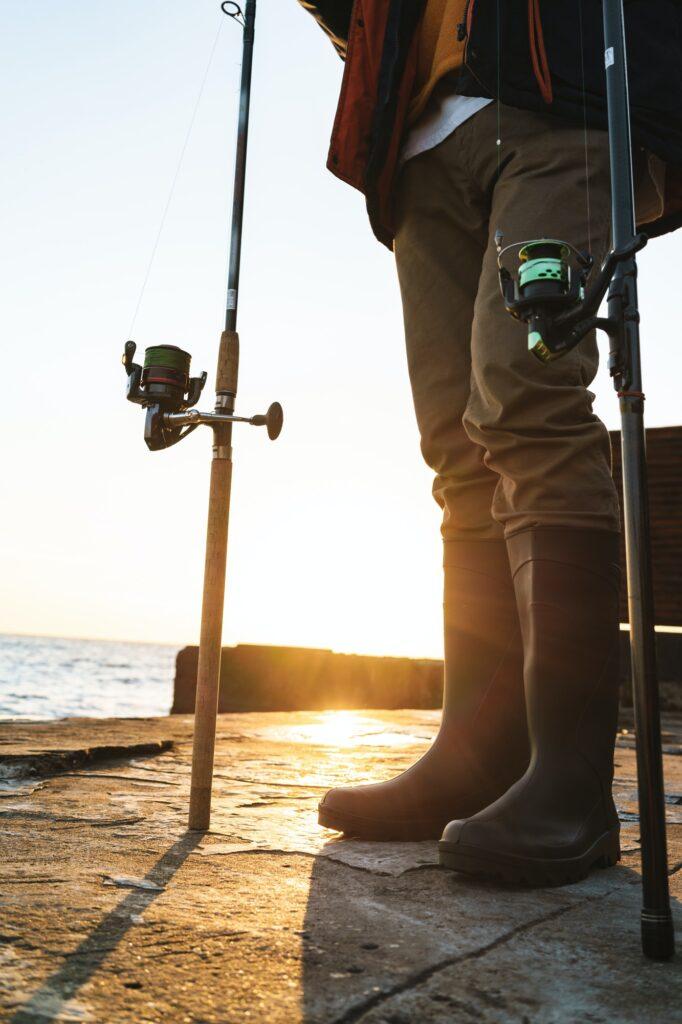 In den Ferien angeln am nördlichsten Riff in Deutschland