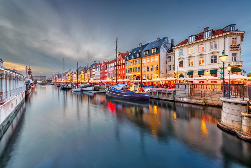 Copenhagen, Denmark Canal
